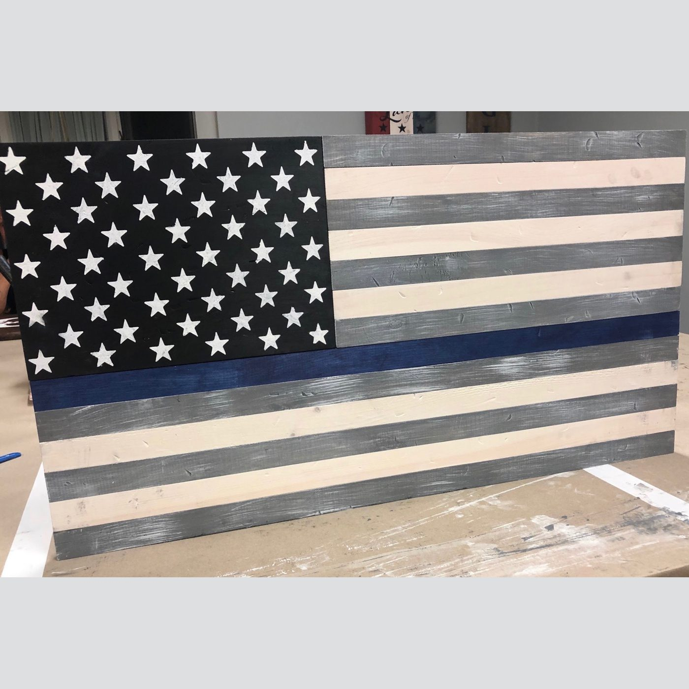 American Flag - Customized DIY Wood Sign