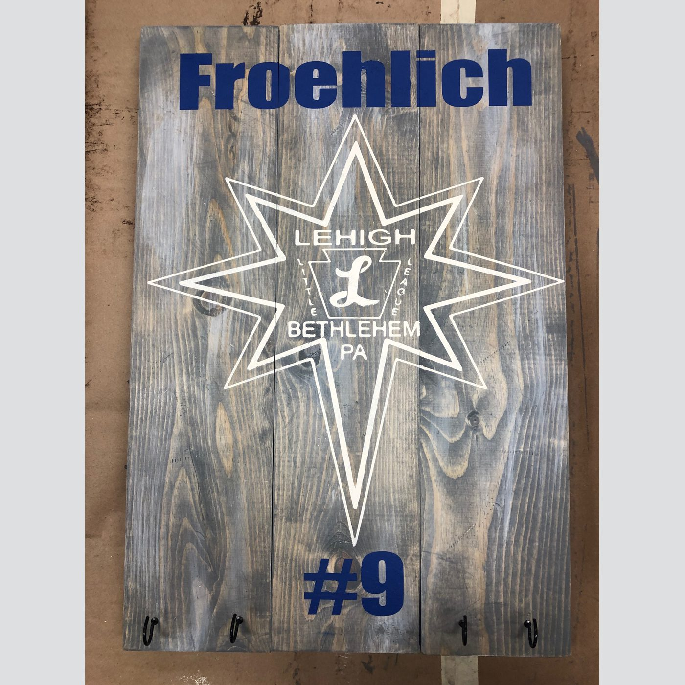 Baseball Plaque DIY Wood Sign