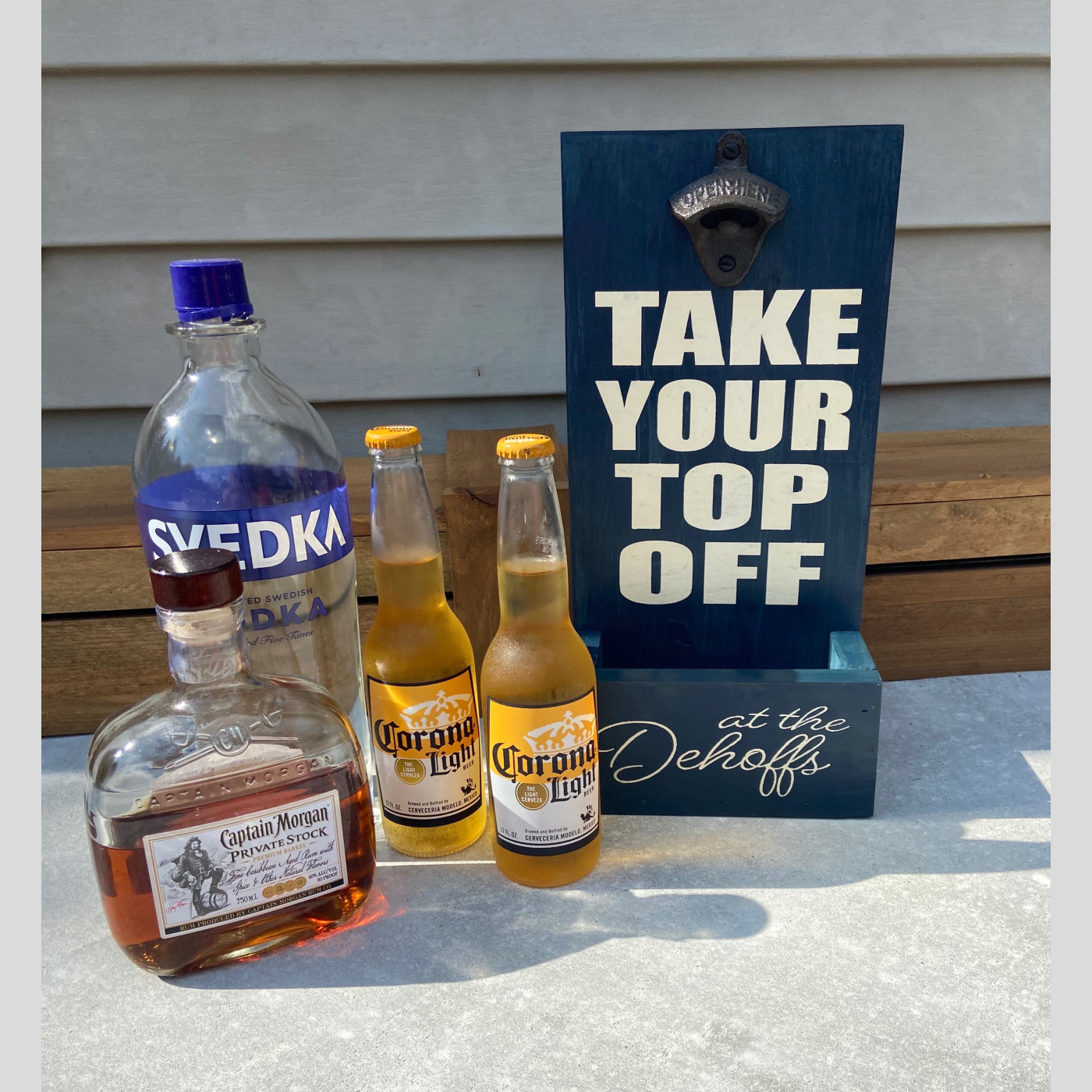 Bottle Opener~Take Your Top Off DIY Wood Sign Bethlehem PA