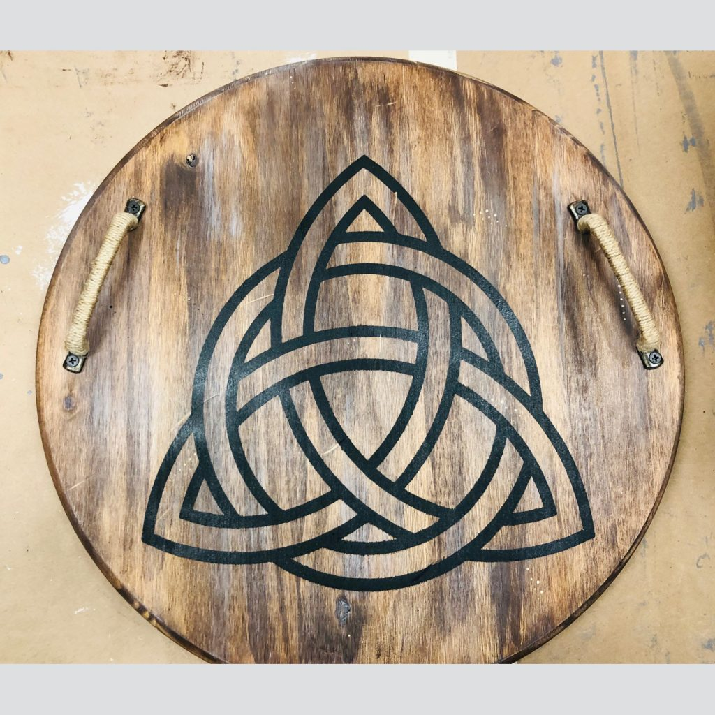 Celtic Knot Tray DIY Wood Sign