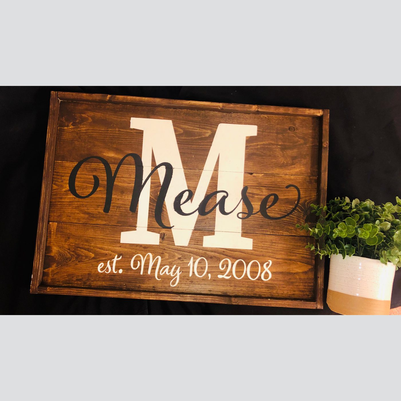 Family Name DIY wood sign