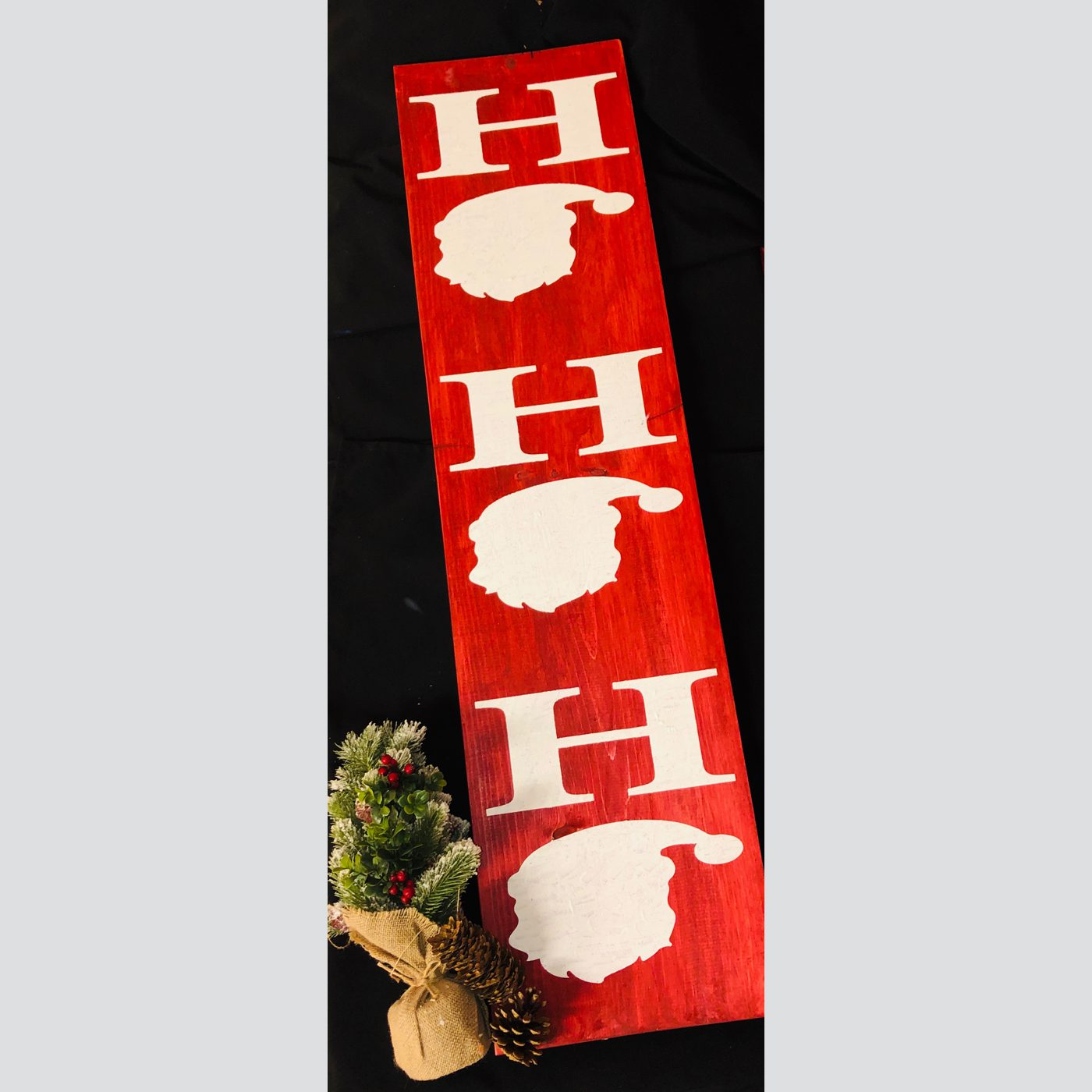 Ho Ho Ho DIY wood Sign Christmas