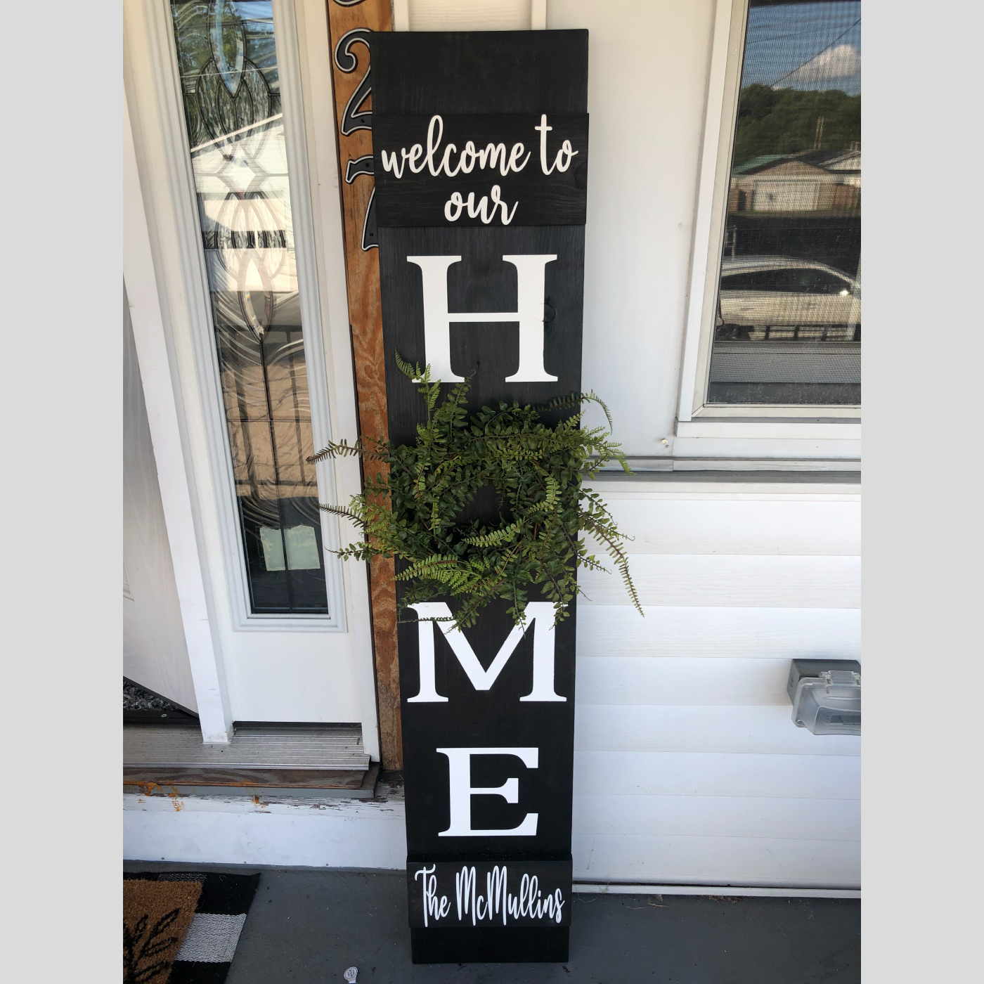 Home Welcome Sign DIY Wood Sign Bethlehem PA
