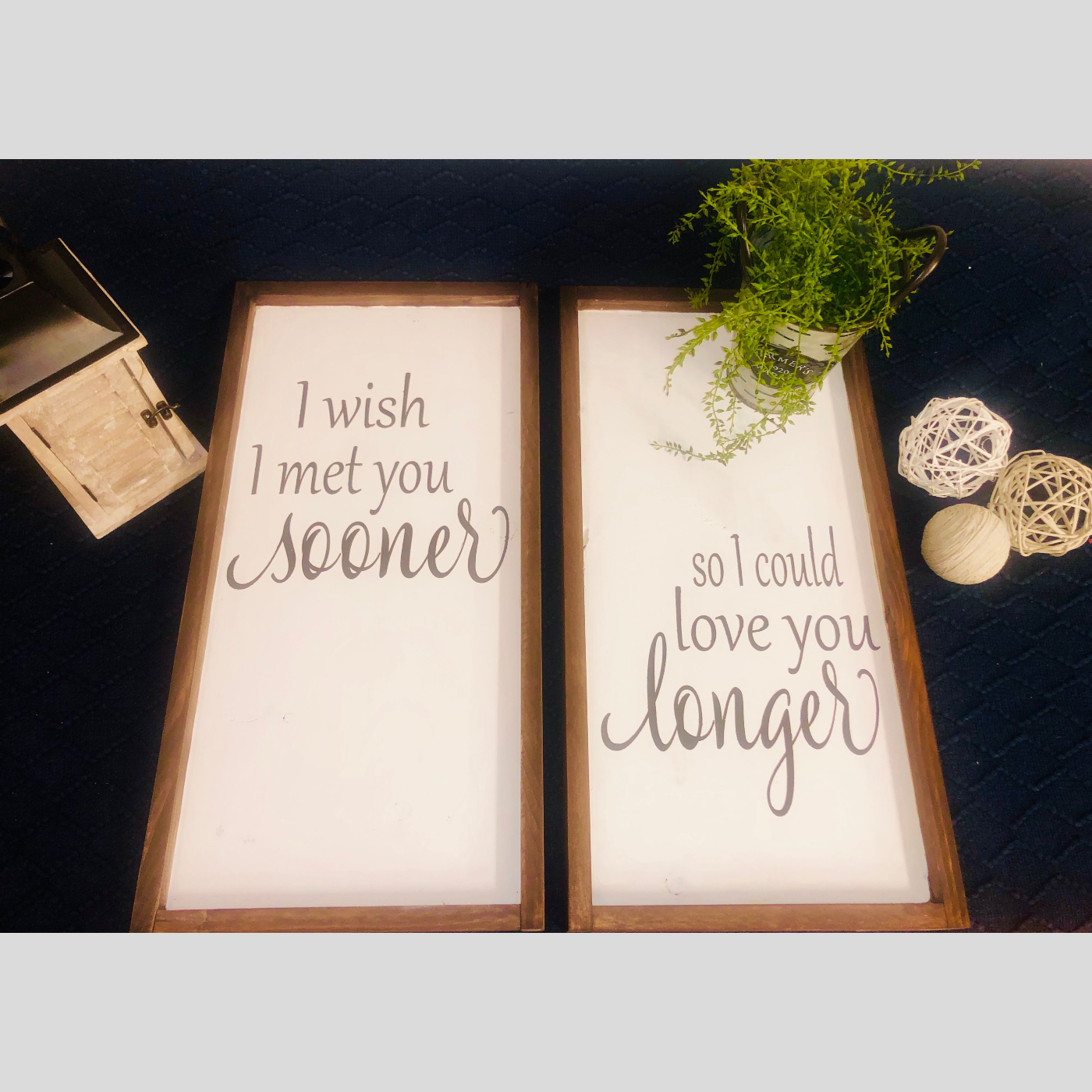 I Wish I Met You Sooner DIY Wood Sign Bethlehem PA