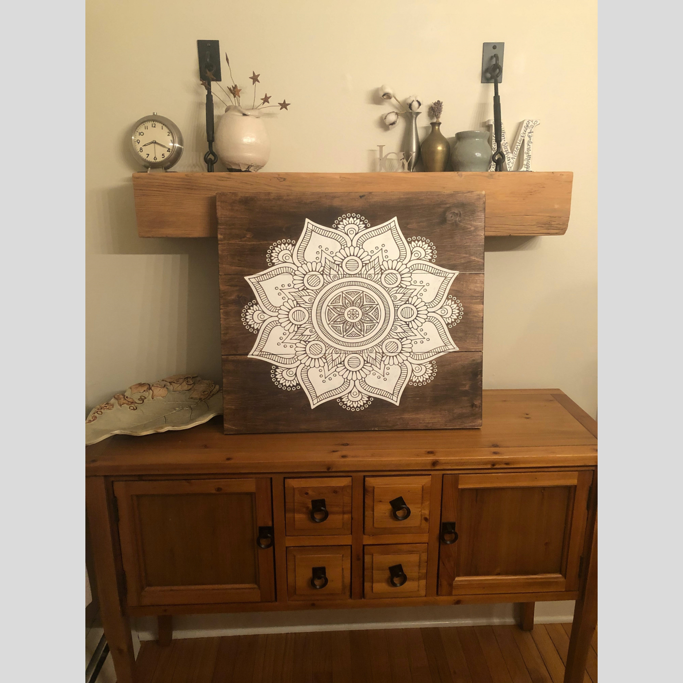 Mandala DIY Wood Sign Bethlehem PA