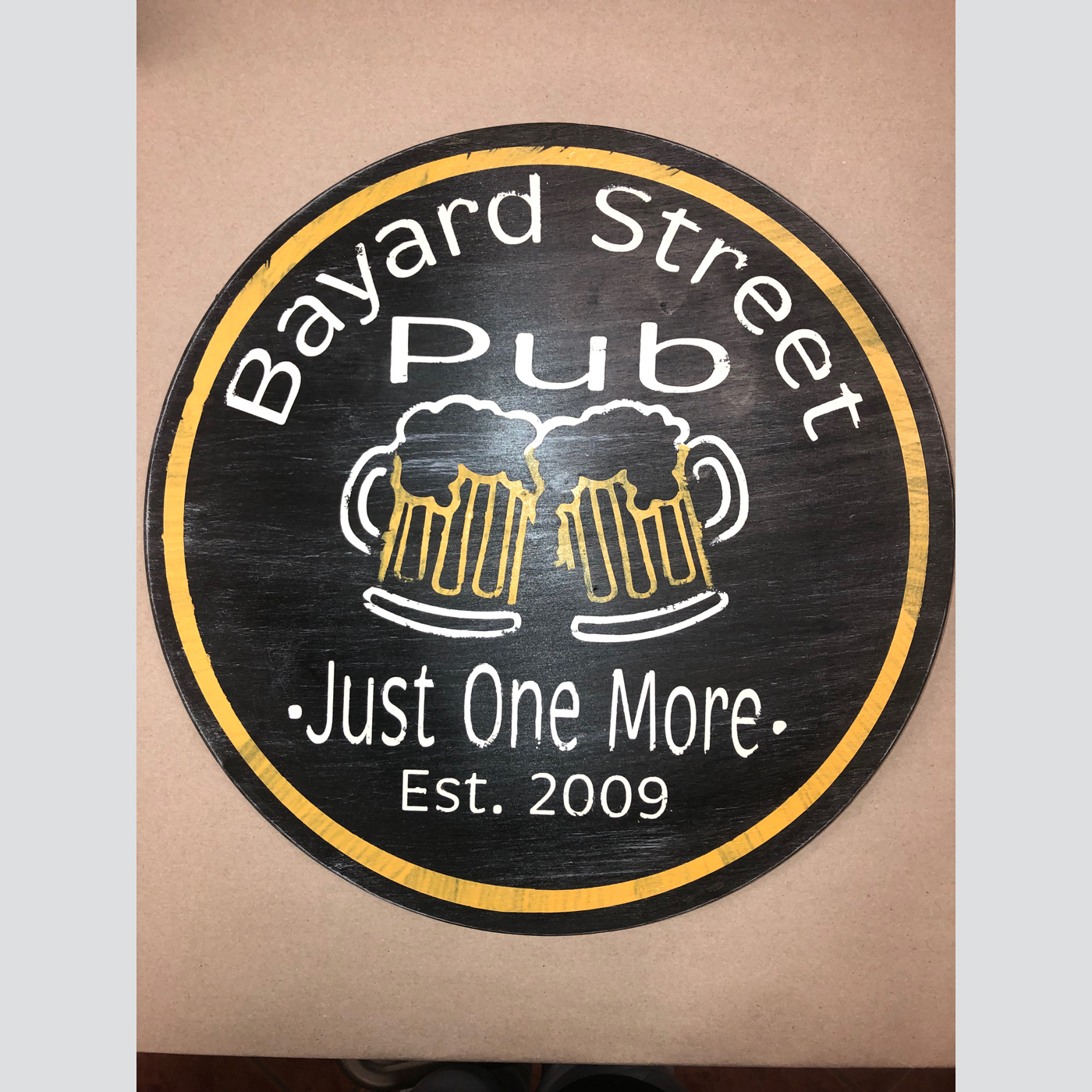 Pub Sign Personalized DIY wood sign man cave