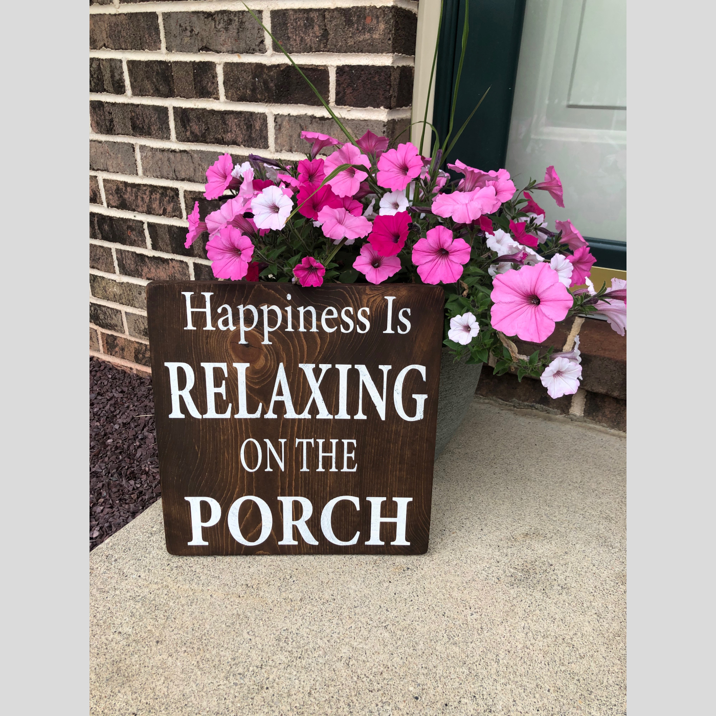 Relaxing on the Porch DIY Wood Sign Bethlehem PA
