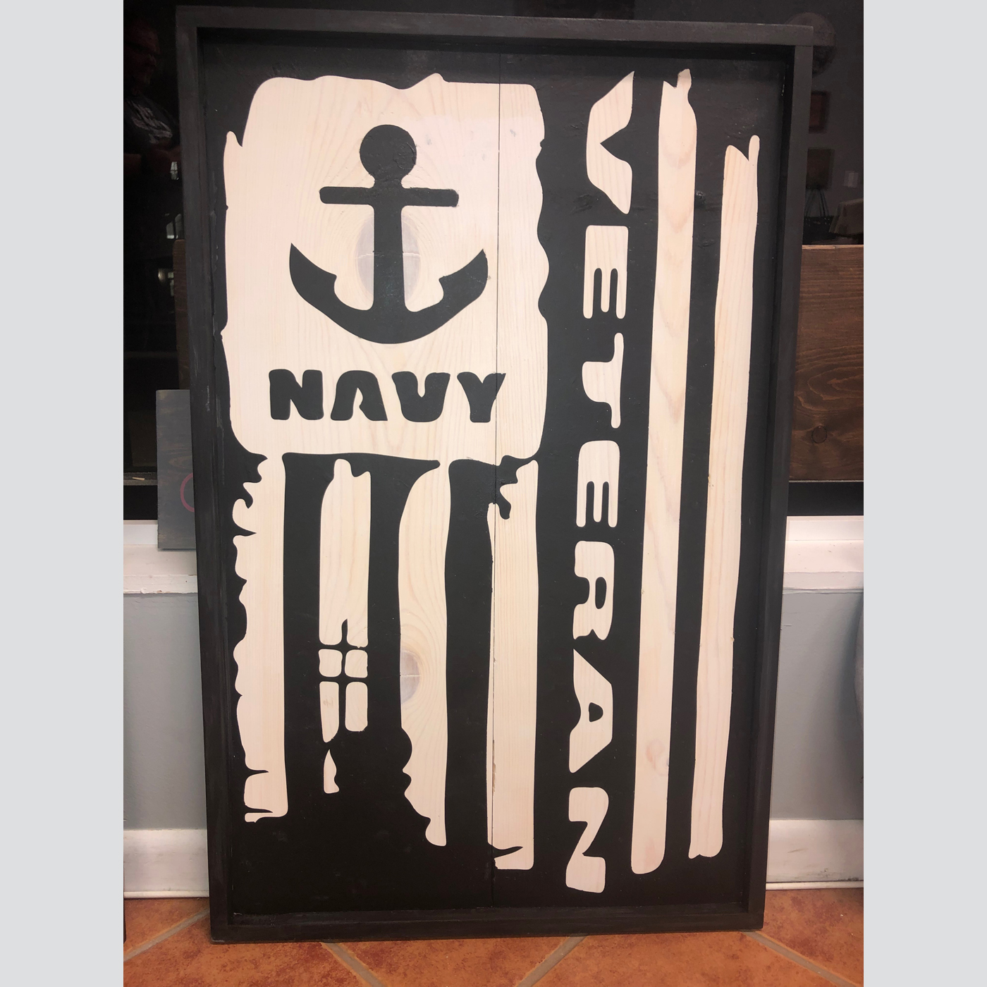 Veteran Flag DIY wood sign