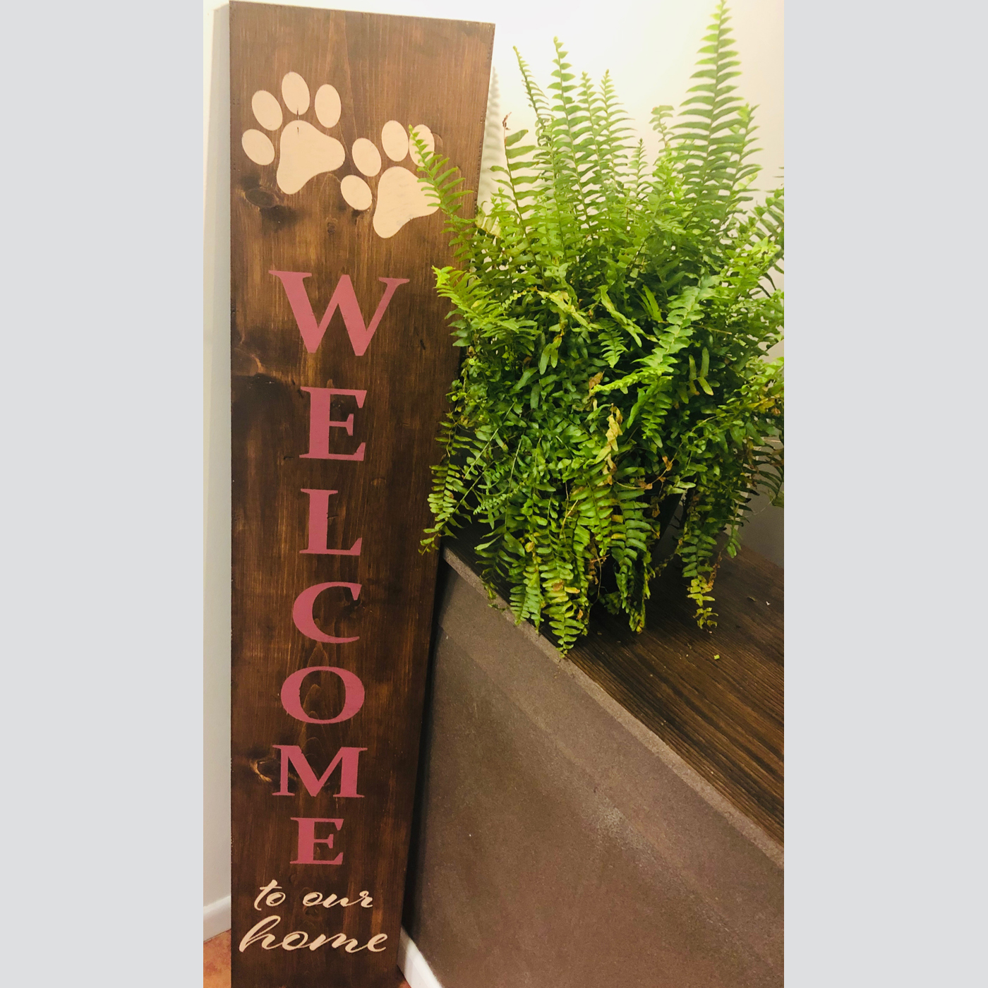 Welcome Sign - Customized DIY Wood Sign Project