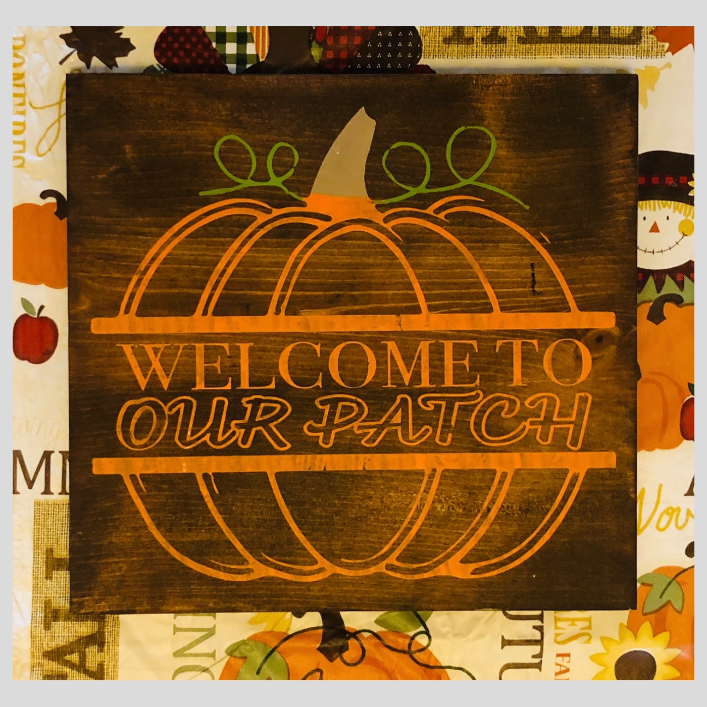 Welcome to Our Patch DIY Wood Sign Bethlehem PA