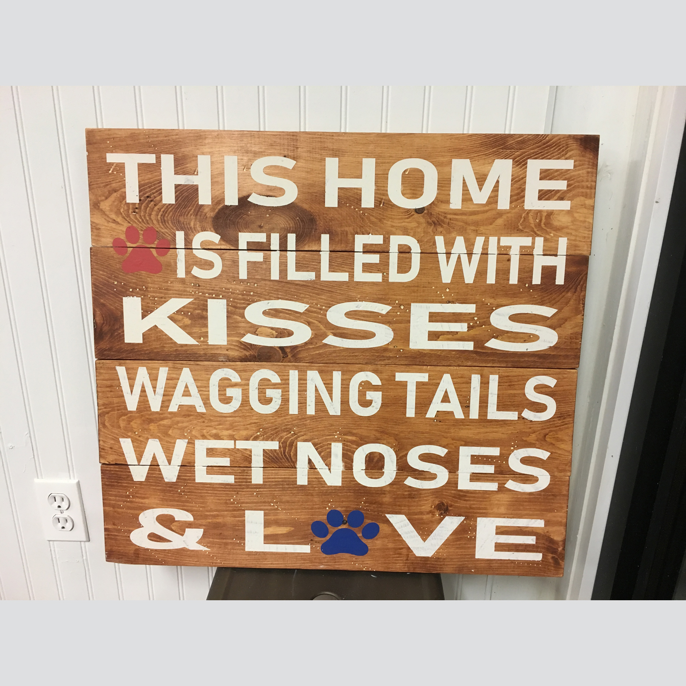 Wet Noses DIY Wood Signs Projects Pets Dogs