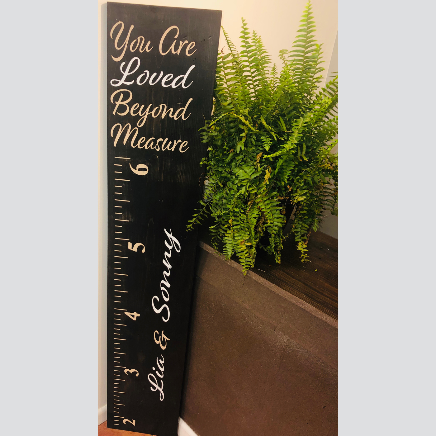 You are Loved Beyond Measure DIY Wood Sign Projects Babies Kids