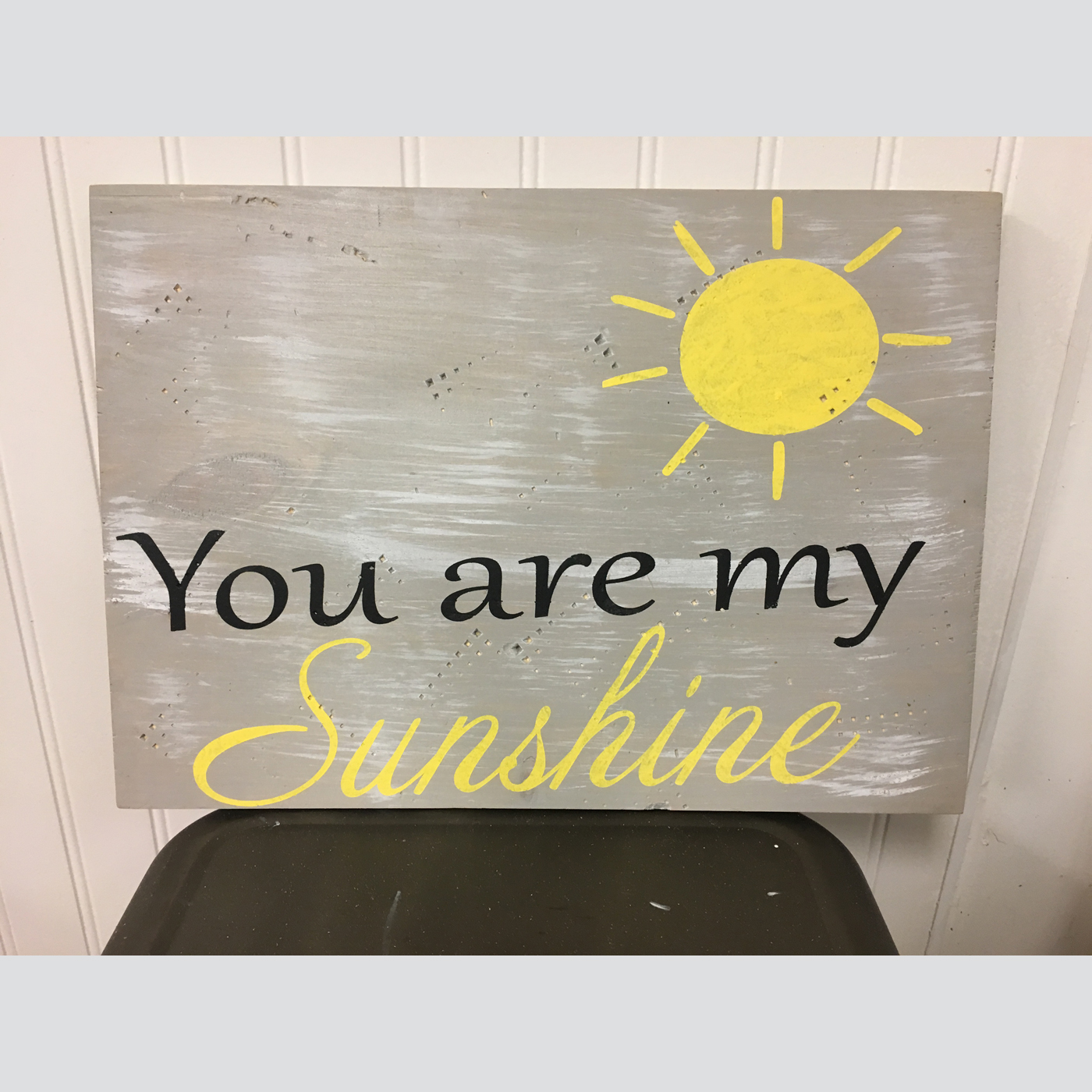 You Are My Sunshine DIY Wood Sign Project Kids Board