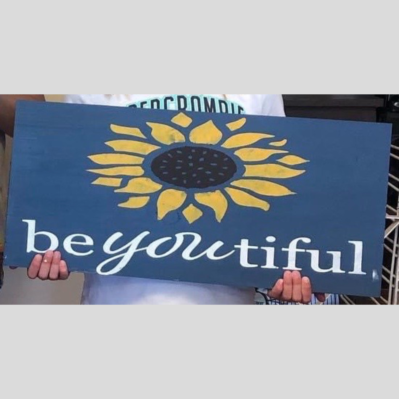 beYOUtiful DIY Kids Wood Sign