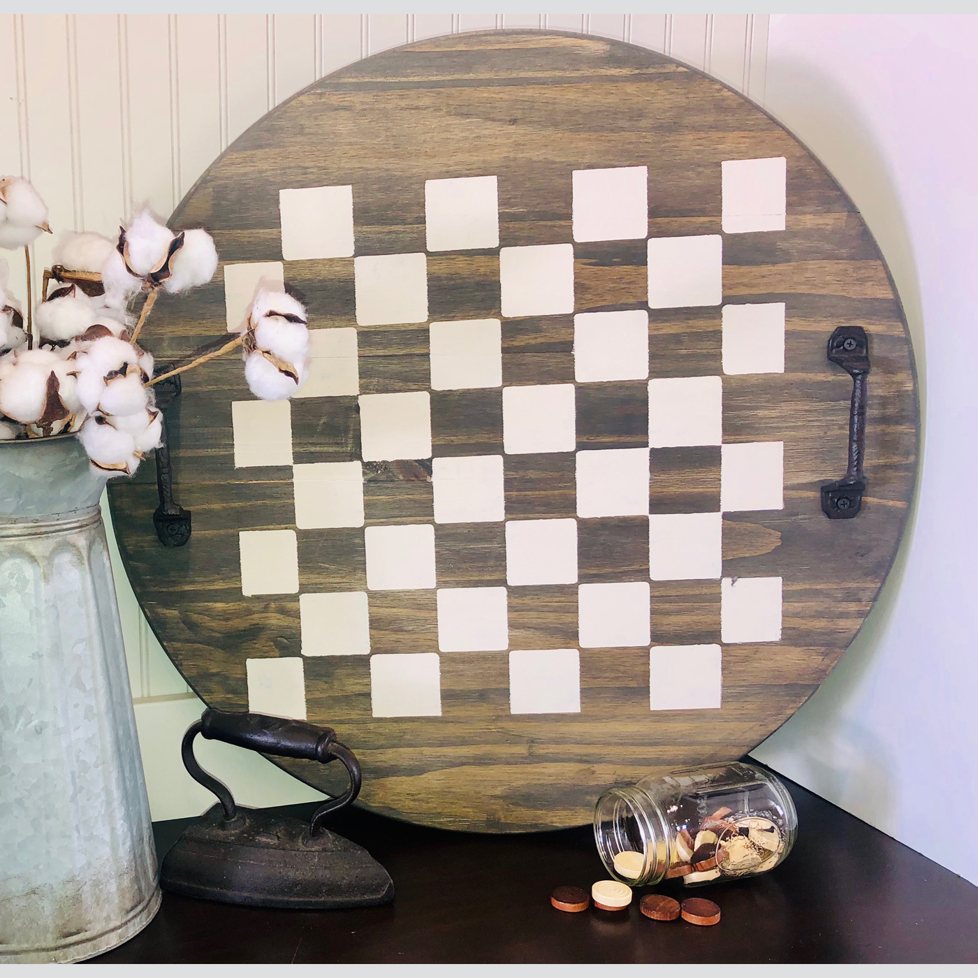 Checkers DIY wood signs